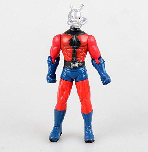 5Pcs Marvel Superhero Ant-Man Ant Man WASP Yellow Jacket Action Figures