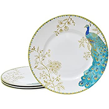 222 Fifth Peacock Garden Porcelain Dinnerware Collection: 11