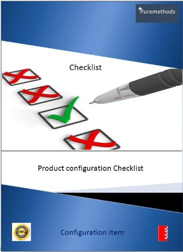 Software Product Configuration Checklist (Checklists Book 1)