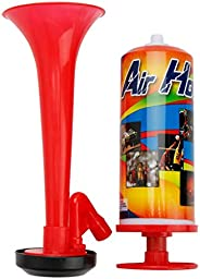 Harilla Plastic Air Horn Hand Pump Boat Safety Horns Sporting Horn