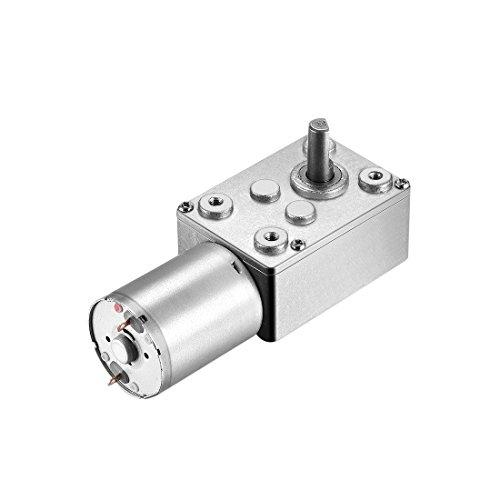 uxcell de alta torque 6mm eje energía eléctrica Caja de cambios Motor, 24V, 4.2RPM
