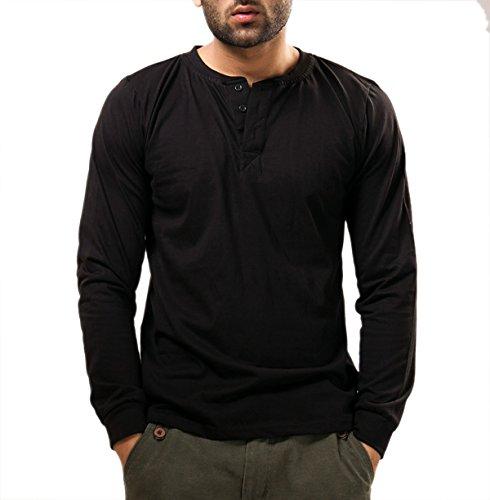 Unisopent Designs Men's Button Front Long Sleeve T-Shirt: Amazon ...