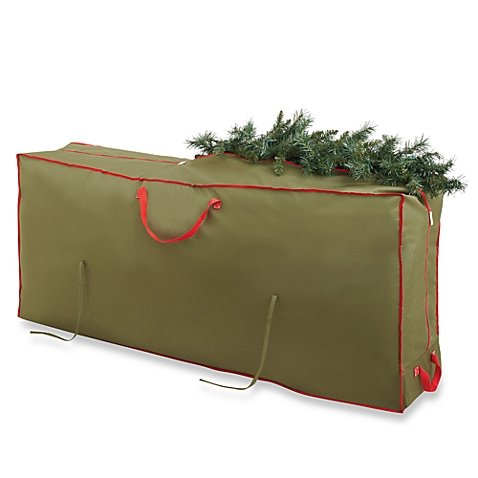 Affordable Real Simple Holiday Deluxe Tree Storage Bag with Wheels Real Simple Christmas Tree