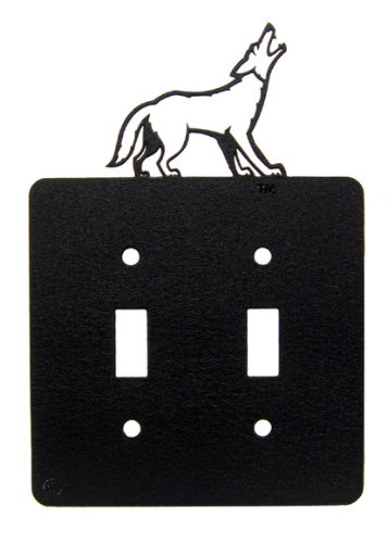 - Innovative Fabricators, Inc. USD University of South Dakota Double Light Switch Plate Cover