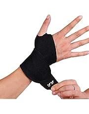 DSTong Polsbandages polsondersteuning, polsbandage voor fitness, bodybuilding, krachtsport & crossfit - voor vrouwen en mannen (stijl 1/1pack)