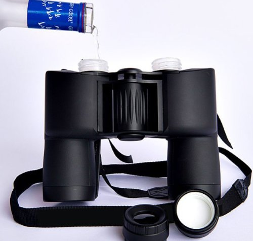 Binocktails Redesigned Binocular Flask by Binocktails