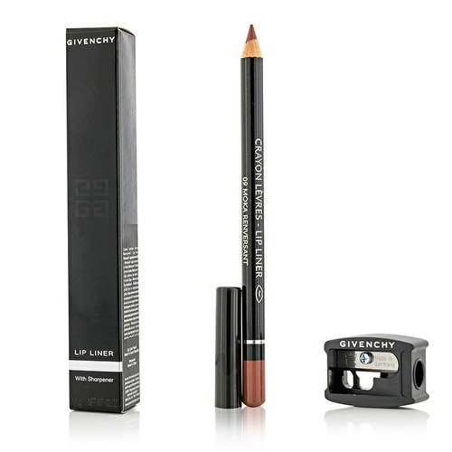 Givenchy Lip Liner with Sharpener, No. 09 Moka Renversant, 0.03 Ounce
