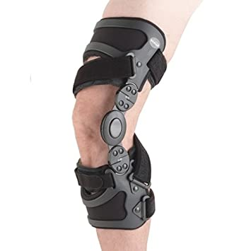 c6485d626c Image Unavailable. Image not available for. Color: Ossur Unloader Spirit Osteoarthritic  Knee Brace-M-Left-Standard Medial