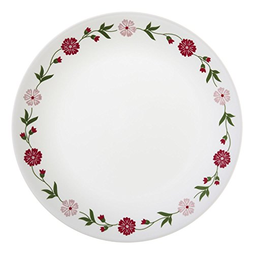 "Corelle Livingware Spring Pink 8-1/2"" Lunch Plate (Set of 8)"