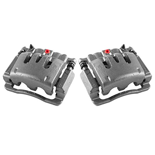 CCK02472 [ 2 ] REAR Premium Grade OE Semi-Loaded Caliper Assembly Pair Set
