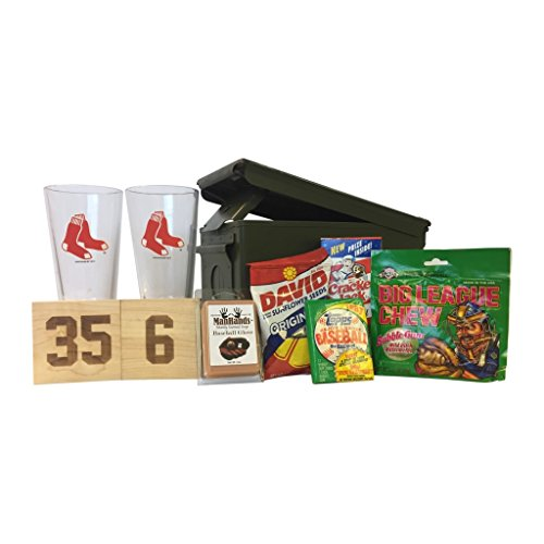 Ammo Gift Box Baseball Gift Package - MLB - Boston Red Sox - Gift Mlb Sox