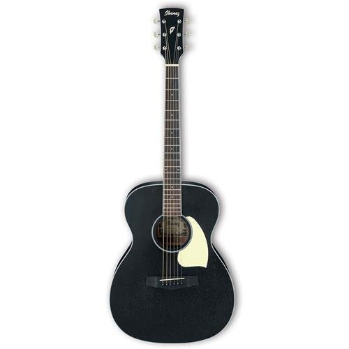 Ibanez PC14WK Mahogany Grand Concert Acoustic Guitar Weathered Black (Grand Concert Acoustic Guitar)