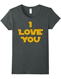 Princess Leia I Love You Graphic T-Shirt