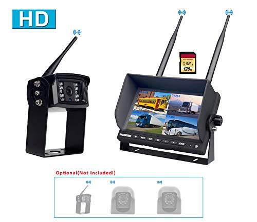 CAMONS Digital Wireless Backup Camera for RV