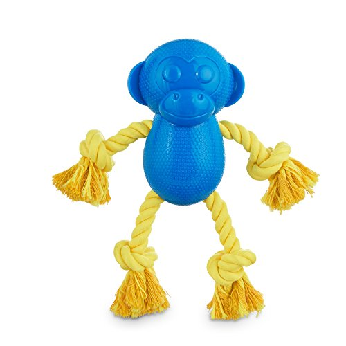 (Leaps & Bounds Chomp and Chew Rope Limbs Monkey Dog Toy, Medium)