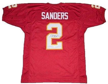 free shipping 34e44 9a78e Signed Deion Sanders Jersey - Fsu #2 - JSA Certified ...