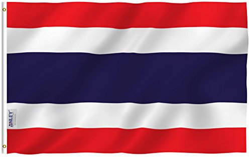 Anley Fly Breeze 3x5 Foot Thailand Flag - Vivid Color and UV