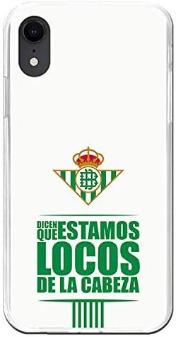 Fundas para iPhone XR Oficiales del Betis. Carcasa de Silicona Flexible y Resistente para iPhone: Amazon.es: Electrónica