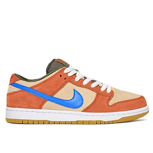 Nike Sb Dunk Low Pro Adult Unisex Sneakers BQ6817-201, Dusty Peach/Photo Blue-Desert Ore, Size US 10.5 ()