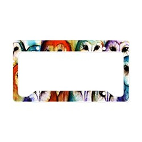 CafePress Audience Aluminum License Holder
