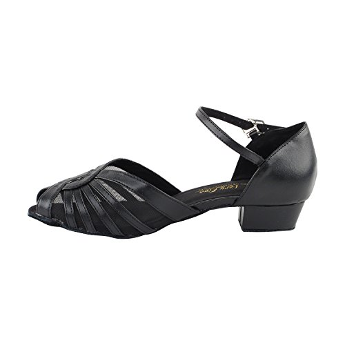 Low Black Ballroom Black Of Mesh Swing Party Dance amp; Practice Gold 2719 Women Salsa Heel Pu 50 1 by Art Comfort Tango Pigeon Shades Dress Theather Party Latin Shoes Shoes f4YqA