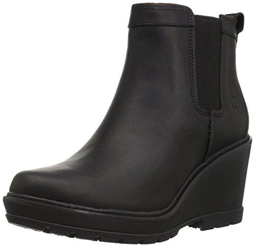 Timberland Women's Kellis Double Gore Chelsea Boot Black