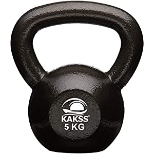 Kakss Cast Iron Kettlebell for Strength/Fitness/Kettle Bell for Home Gym 2 KG to 92KG (Proudly Made in India)