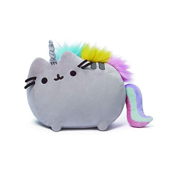 """GUND Pusheenicorn Plush Stuffed Animal Rainbow Cat Unicorn, 13"""" 3"""