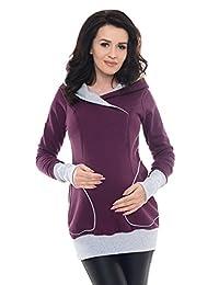 Purpless Maternity 2in1 Nursing Hoodie 9056