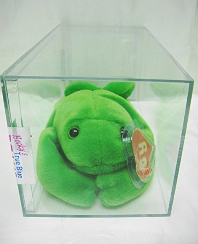 2c3e5b67281 Image Unavailable. Image not available for. Color  Ty Legs The Frog  Authenticated First Generation 1G 1G Korean Beanie Baby-Very Rare