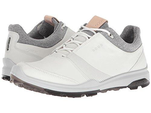 ECCO Women's Biom Hybrid 3 Gore-Tex Golf Shoe, White/Black, 41 M EU (10-10.5 US)