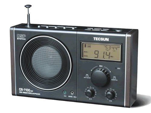 Tecsun CR-1100 DSP AM/FM Stereo Radio (English Manual)