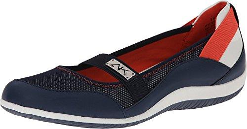 AK Anne Klein Sport Women's Watchful Fashion Sneaker, Navy, 7.5 M US