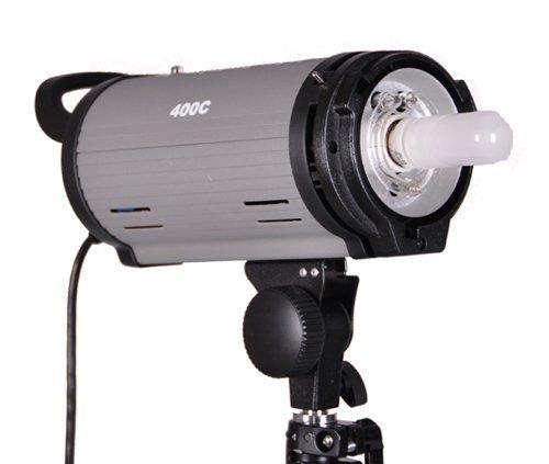 CowboyStudio Mettle 400W Monolight Strobe Flash with Bowens Style Mount, Monolight, and Modeling Lamp