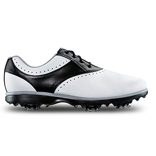 FootJoy Women's Emerge-Previous Season Style Golf Shoes White 7 M Black, US