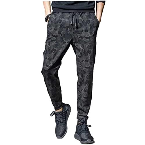 Hainice Mannen Straight Pants joggingbroek casual broek Koord Potlood Broek Slim Sports lange broek met zakken…