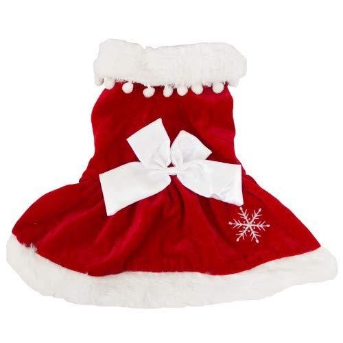 PetBrands - Disfraz de Papá Noel para perros (XS) (Mamá Noel ...