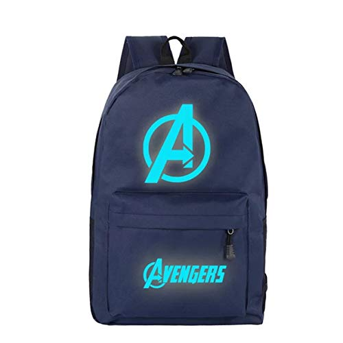 b76019eed98e Col-92 Kids Avengers End Game Backpack-Luminous School Backpack Book Bags  for Boys Girls