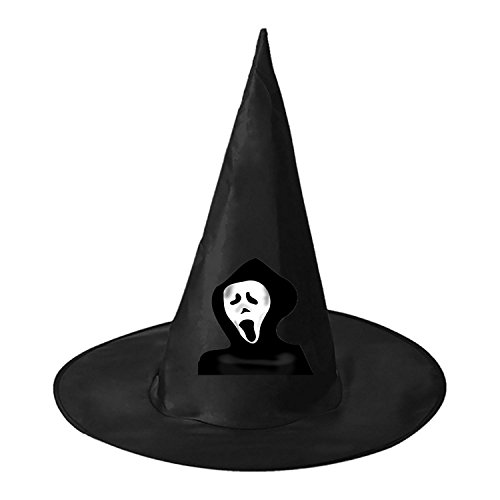 Scream Guy Halloween Masquerade Party Witch Wizard Costume Pointy Hat (Popular Halloween Costumes 2017 For Guys)