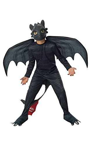 Rubies How to Train Your Dragon 2 Night Fury Costume, Child Small]()