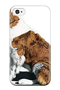 For KfsPXFG4136YNfrC Dog Protective Case Cover Skin/iphone 4/4s Case Cover