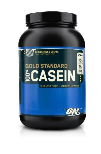 Optimum Nutrition 100% Casein Protein Blueberries & Cream 2Lb