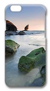 Green rocks beach Custom Diy For SamSung Galaxy S5 Case Cover Polycarbonate 3D