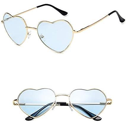 YXCCHZS Gafas De Sol En Forma De Corazón para Mujer Gafas De ...