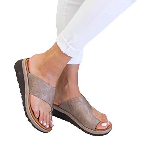 - 2019 Platform Sandal Comfy Platform Shoe Women Summer Beach Lightweight Ladies Shoes Travel Shoes Fashion Sandals Non-Slip