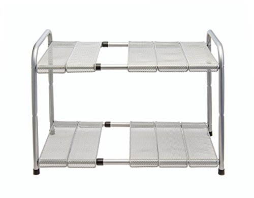 Venoly Expandable Under Sink Organizer - 2 Tier Storage Rack