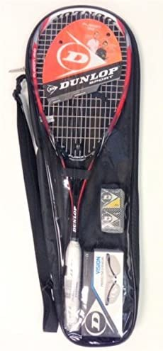 Amazon.com : DUNLOP Fusion Graphite Squash Pack : Sports ...