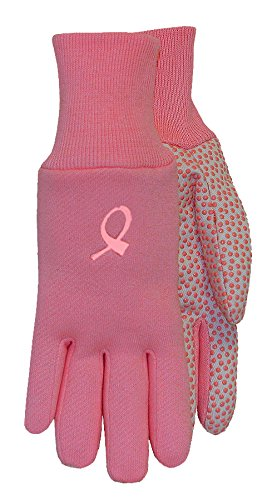 MidWest Gloves 522F6-L-AZ-1 Jersey Canvas Work and Garden Glove with PVC Dots (144 Pair Pack), Large, Assorted by Midwest Gloves & Gear