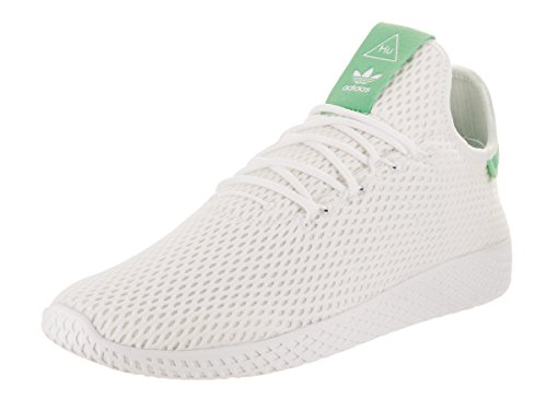1046ea69603d4 Galleon - Adidas Men s Pharrell Williams Tennis Hu Originals  White White Green Glow Casual Shoe 8.5 Men US