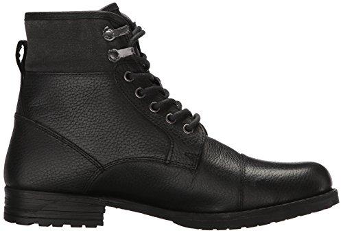 Marc New York Di Andrew Marc Mens Merrick Combat Boot Black